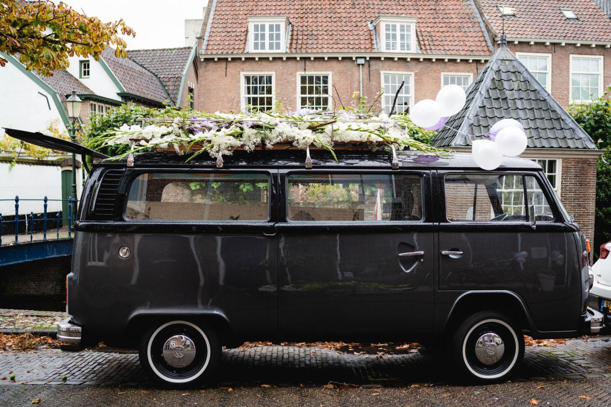 Afscheid in VW busje