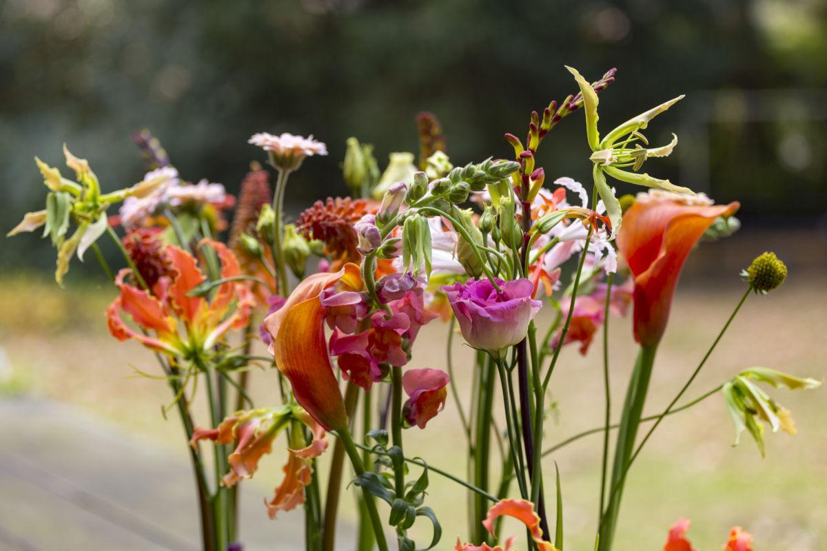rouwboeket, Wolter Strijker | Kunstenaar in afscheidsbloemen met gevoel en liefde