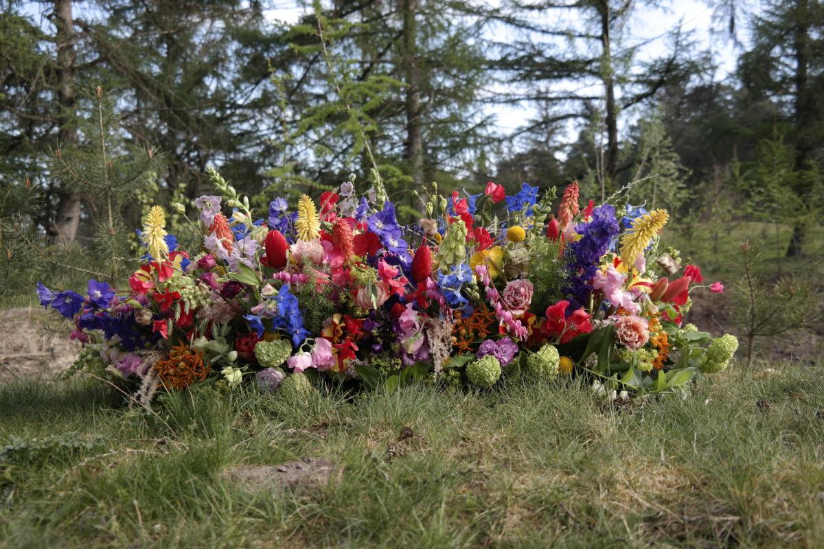 Kistbloemstuk Begrafenis